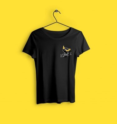 EnduroBanana-front-Crew-neck-female-tshirt