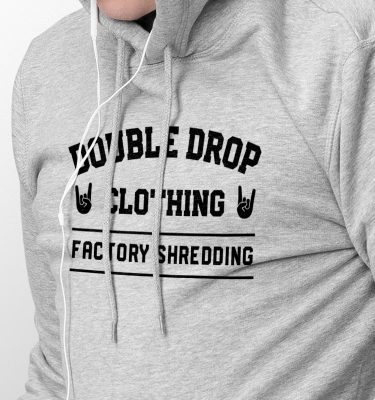 FactoryShredding_Mens_Hoodie_Grey_Front_Zoom