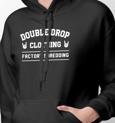 FactoryShredding_Womens_Hoodie_Black_Front_Zoom