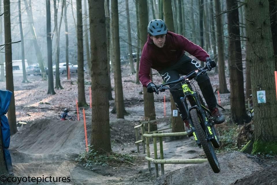 Double Drop Race team Will Brett-Atkin Rogate Bike Park