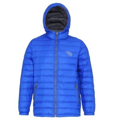 BLUE Padded Jacket_DDLogoEmbroidery_Mens
