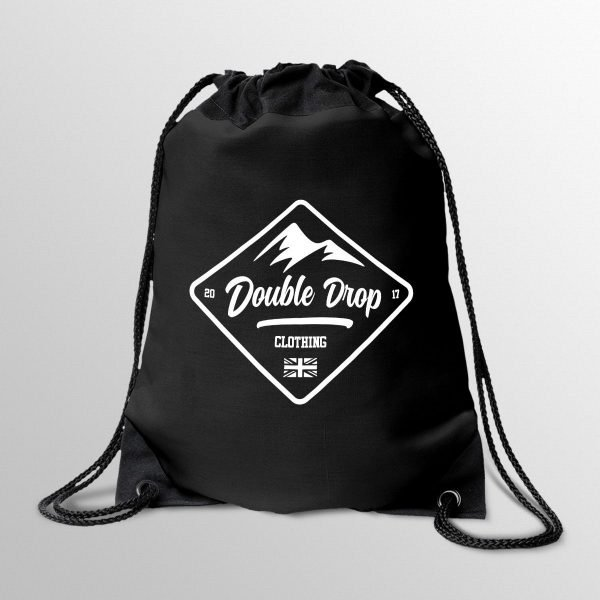 Mountain Drawstring Bag
