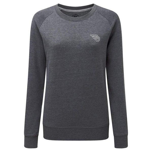 NoDigNoRide_WomensSweatshirt_Front_Grey