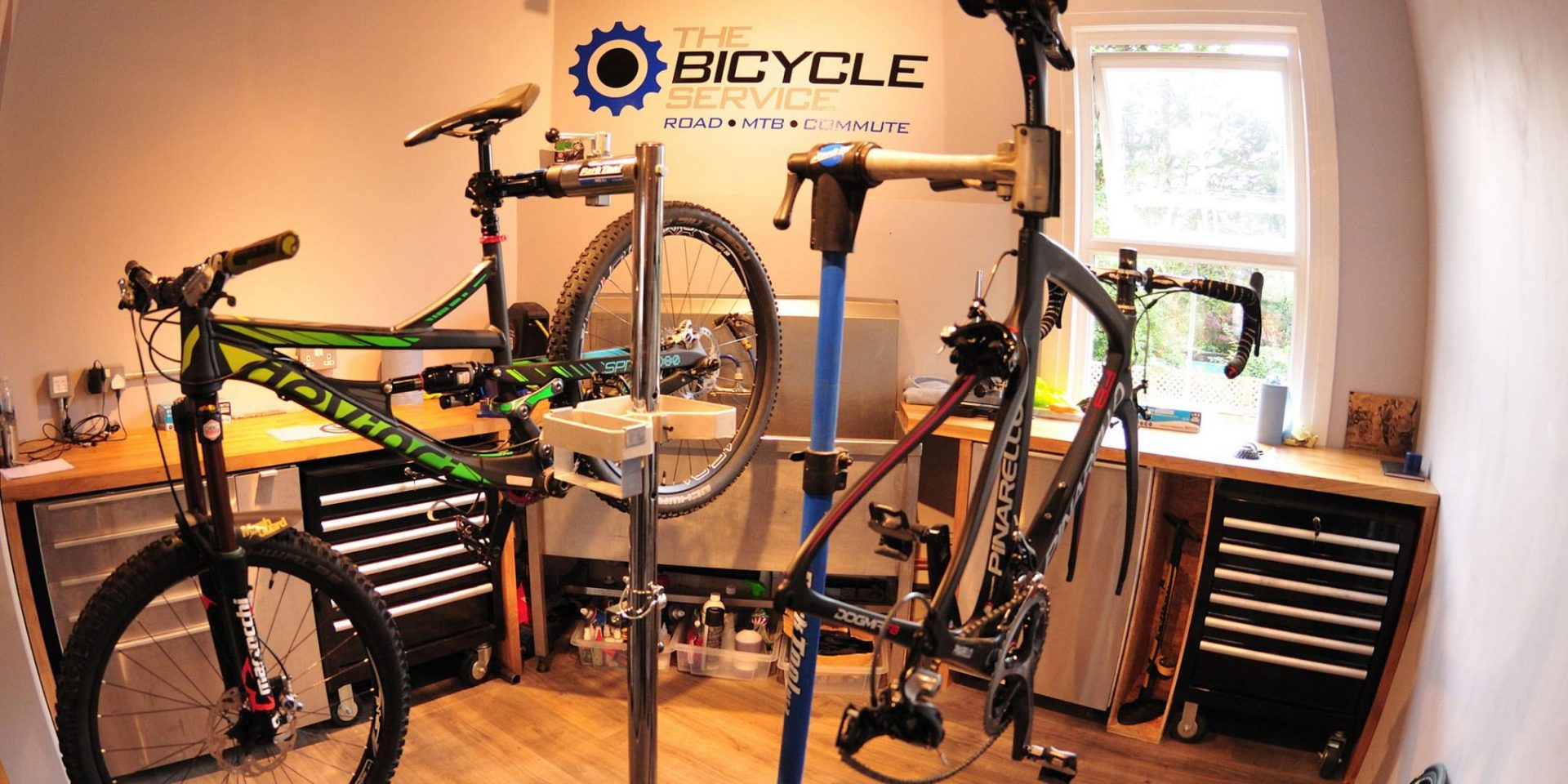 The Bicycle Service Double Drop Team Sponsor