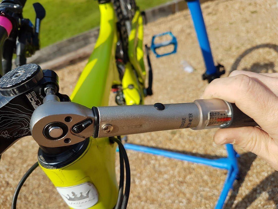 Mountain Bike Torque Wrench