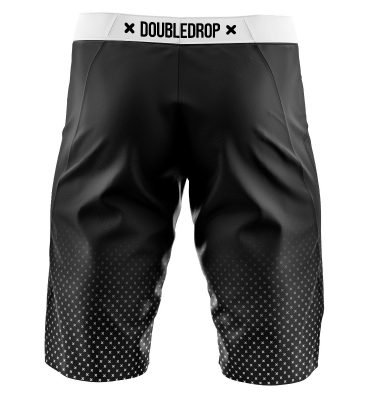 Double Drop Cross Fade Shorts Back