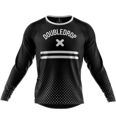 Men's Double Drop Cross Fade Jersey Front