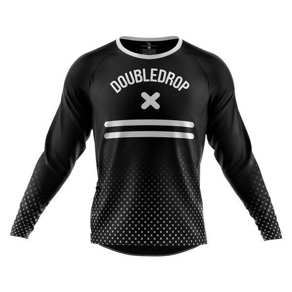 Men's Double Drop Cross Fade Jersey Front