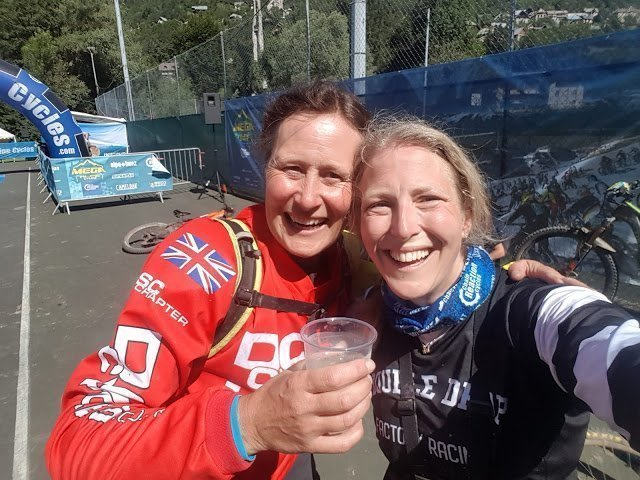 Renee Diwell Vicky balfour chain reaction mega avalanche double drop race team