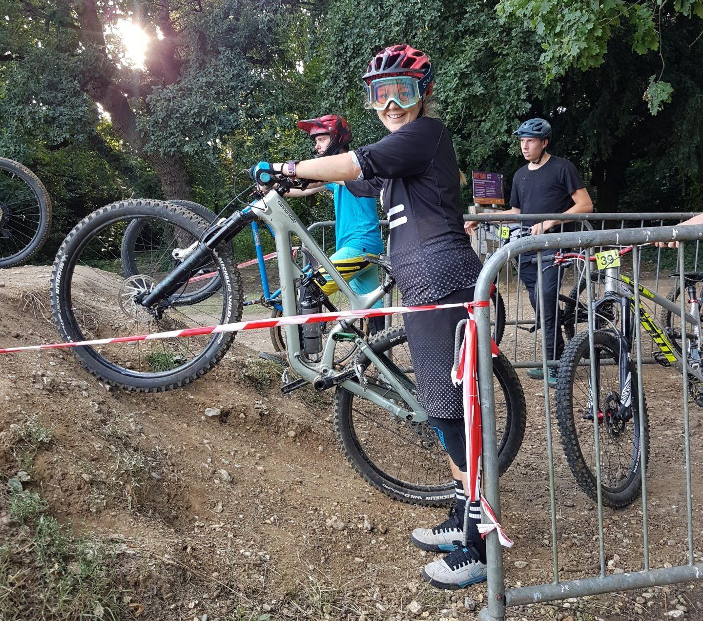 Kate Beaven Double Drop Clothing Southampton bike park dc cycles dual slalom