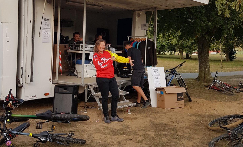 Renee Diwell southampton bike park dual slalom