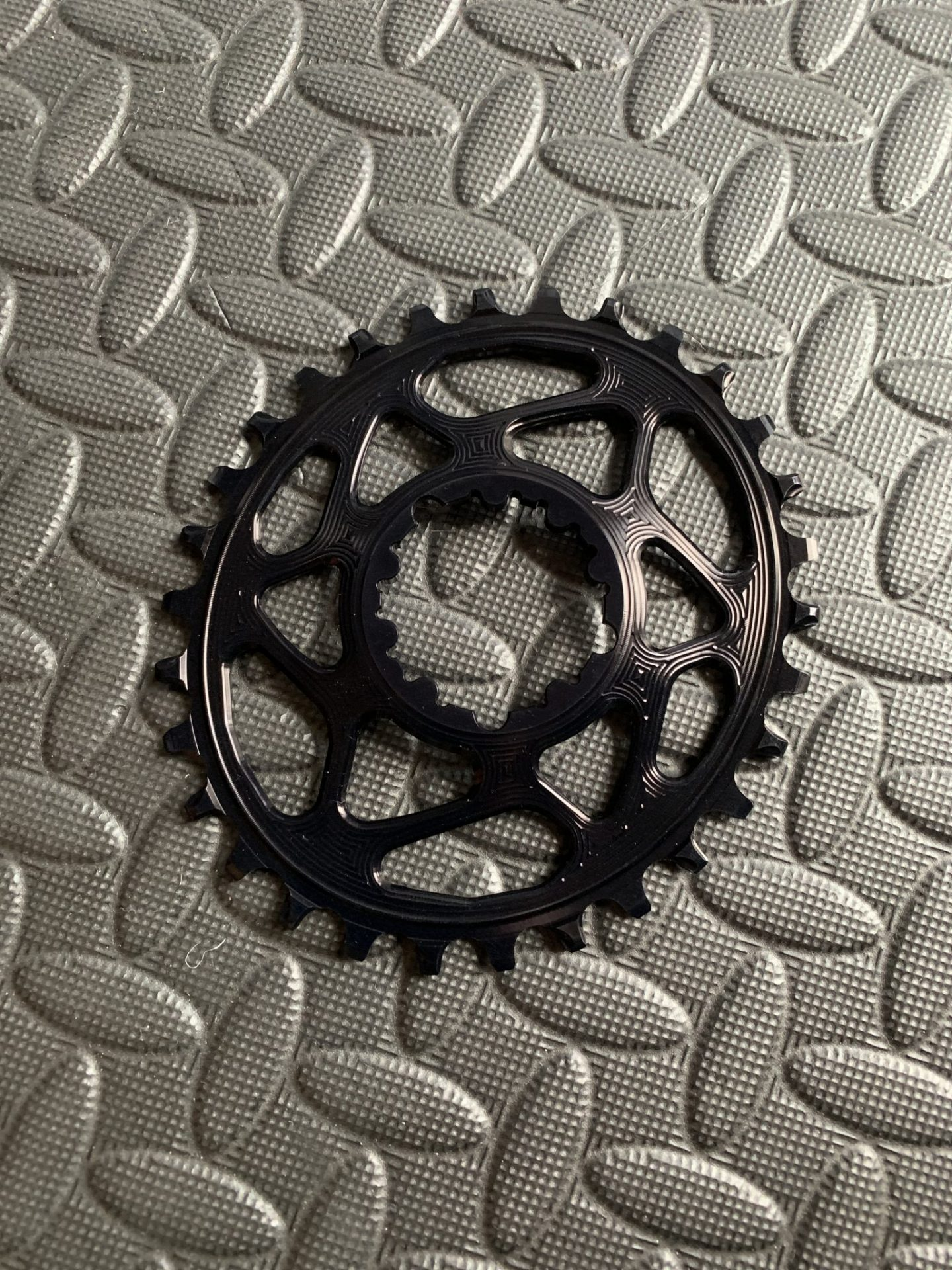absolute black oval chainring single