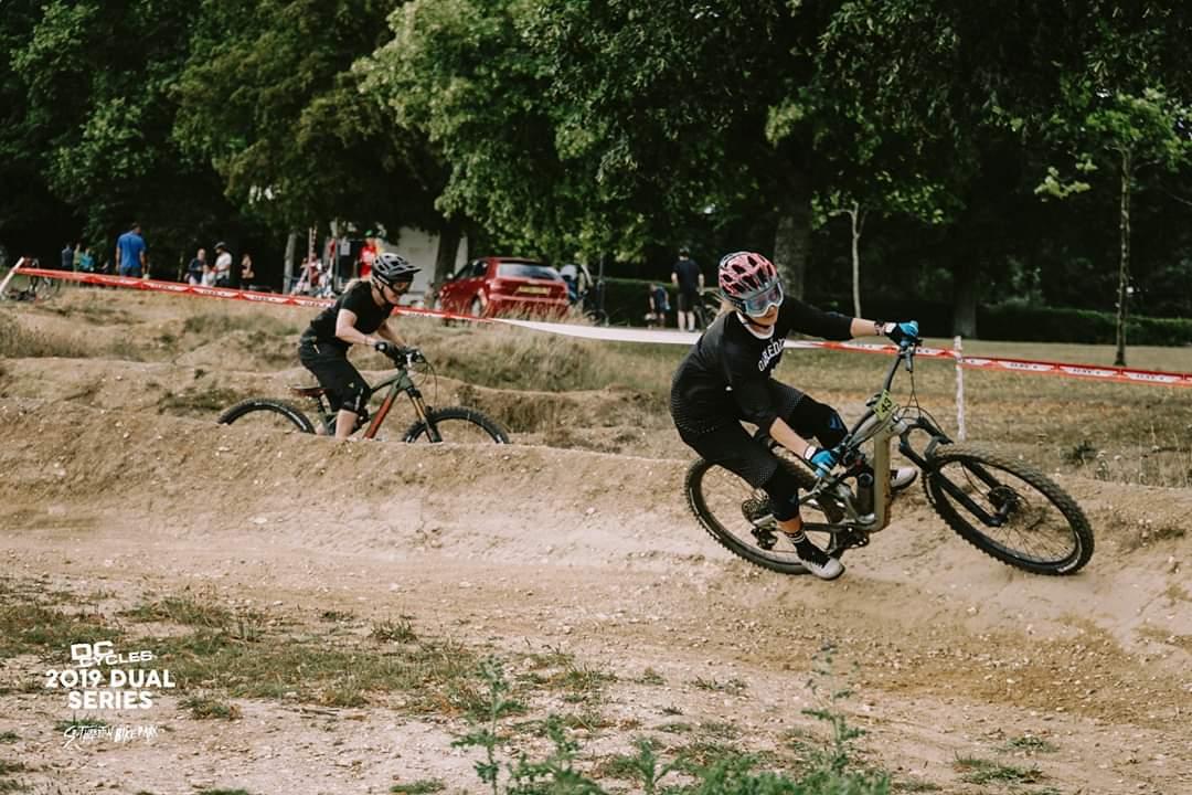 Double Drop at Southampton Bike Park Dual Slalom